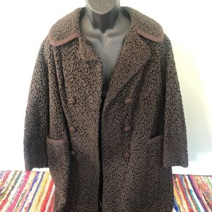 1960s Russel Taylor Winter Coat Beautiful Rare USA